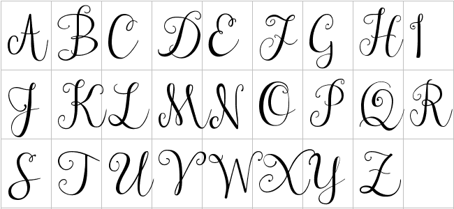how to write cursive letters on your keyboard