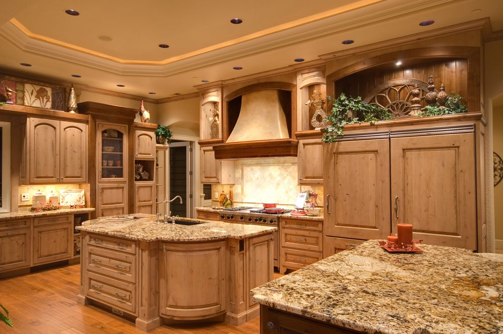 124 Custom Luxury Kitchen Designs (PART 1) | White Ceiling, Trays And  Ceilings