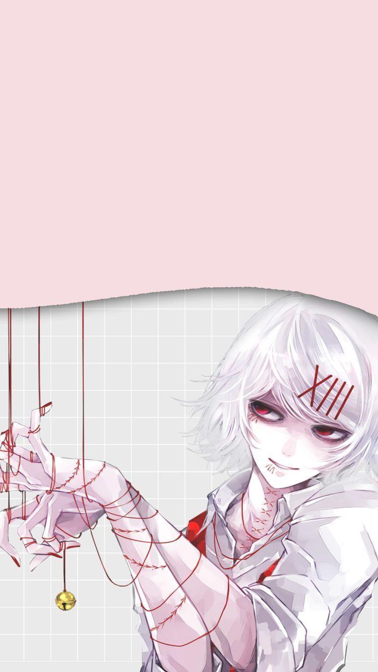 Tokyo Ghoul Suzuya.Juuzou HD Print Anime Wall Poster Scroll Room Decor