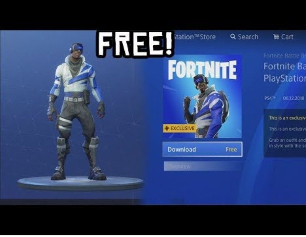 This Is The Play Station Skin Ps Only Available In Germany Newest Playstation Fortnite Playstation