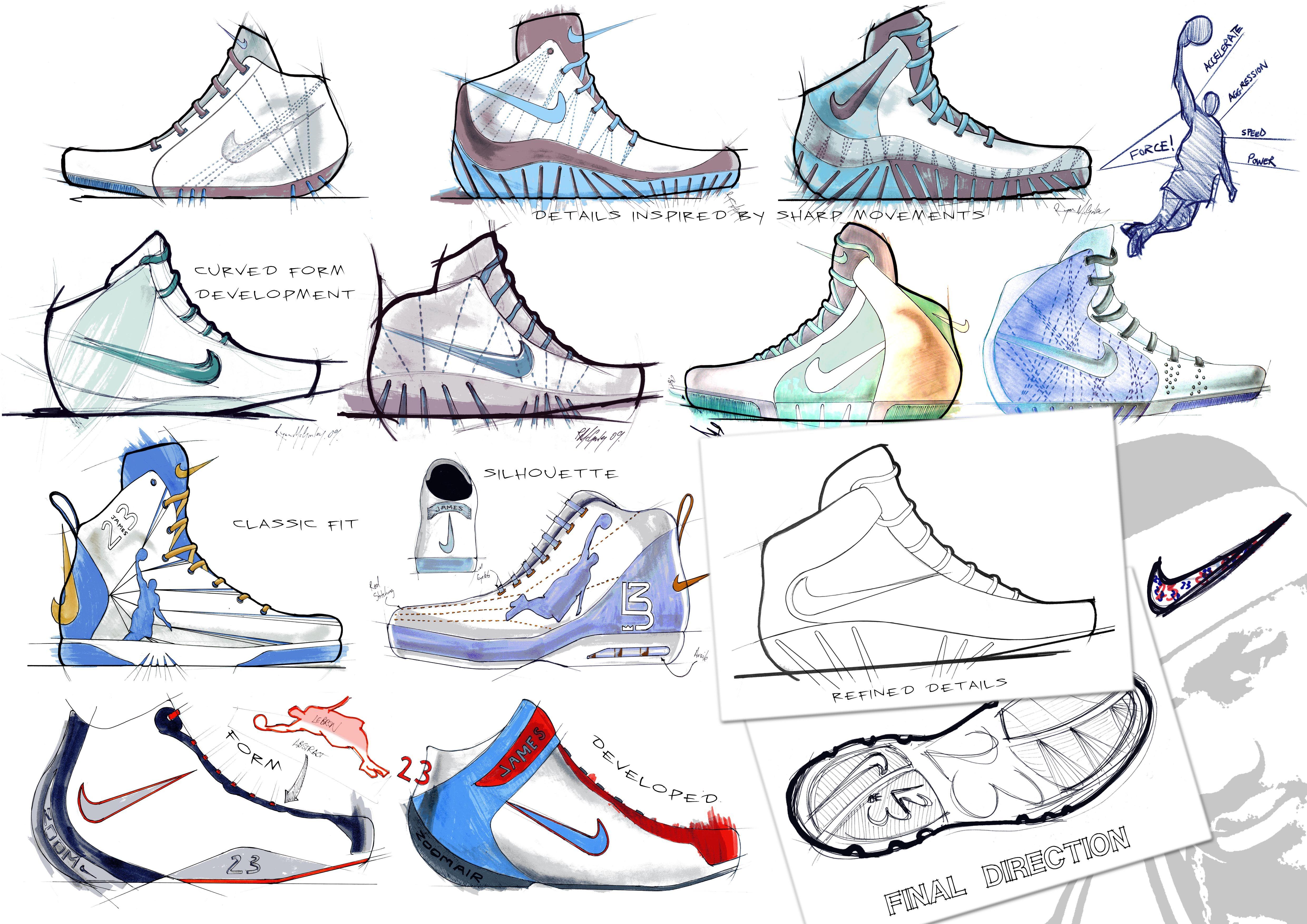 imagenes basketball - Buscar con Google � Shoe SketchesJames ShoesShoe  DesignsNike ...