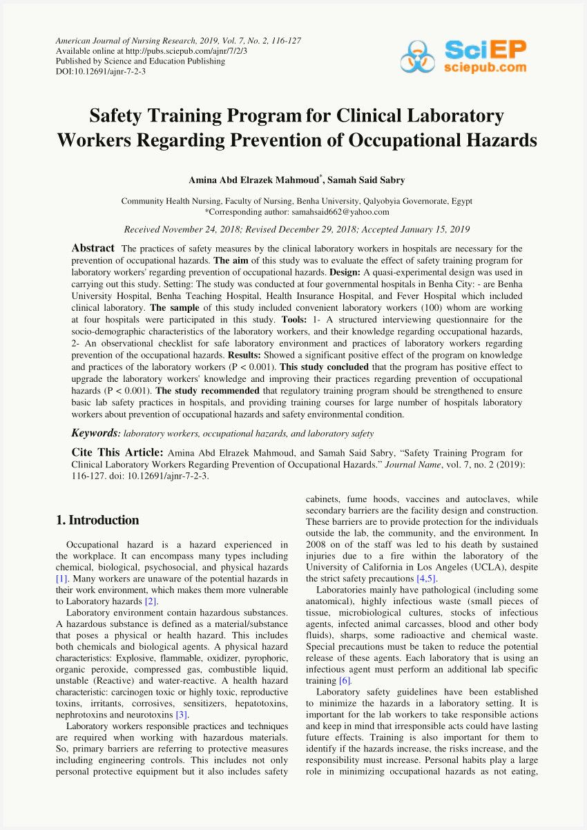 46 Example Osha Safety Manual Free Download Image in 2020