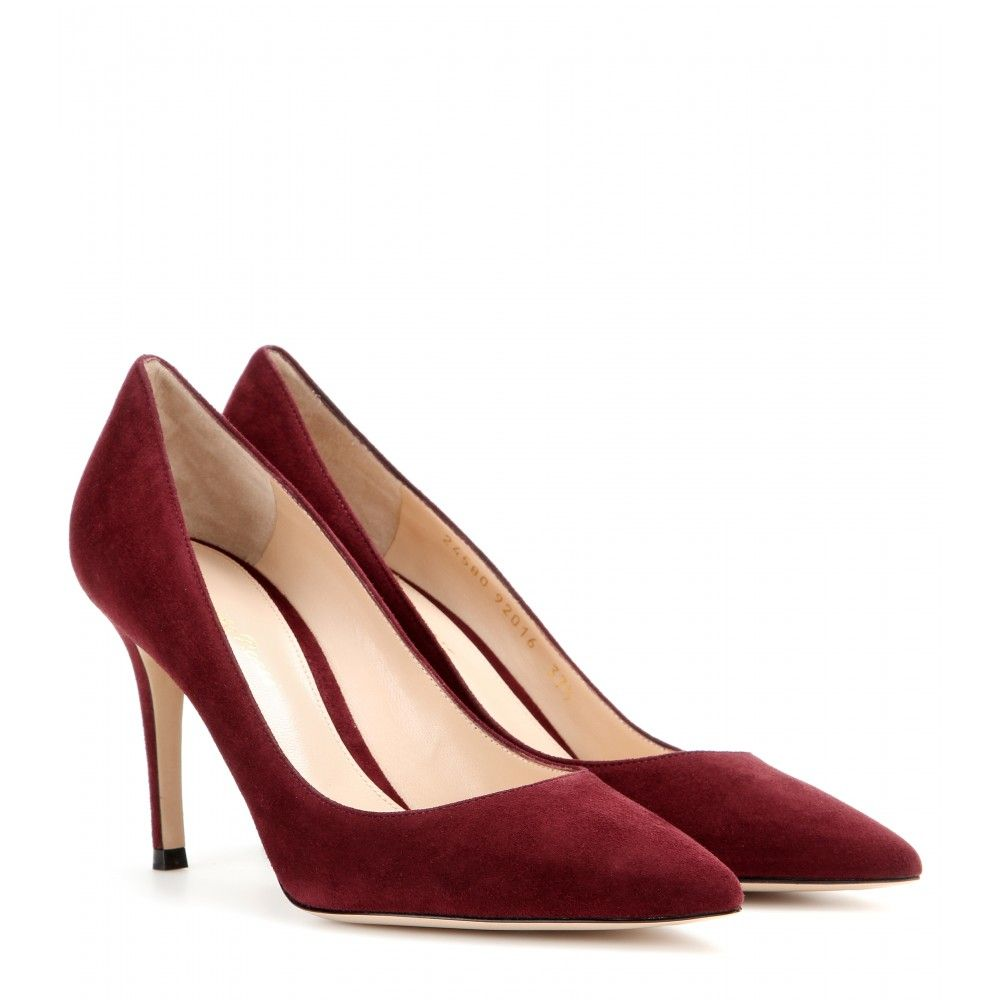 Gianvito Rossi - Suede pumps - mytheresa.com   shoes   Suede pumps ... db705b483b