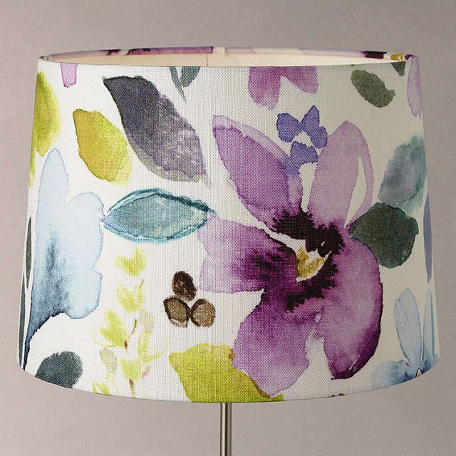 Bluebellgray christine grey tapered lampshade multi at john lewis