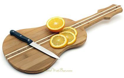 Tabla Para Picar Con Forma De Guitarra Dise O Industrial