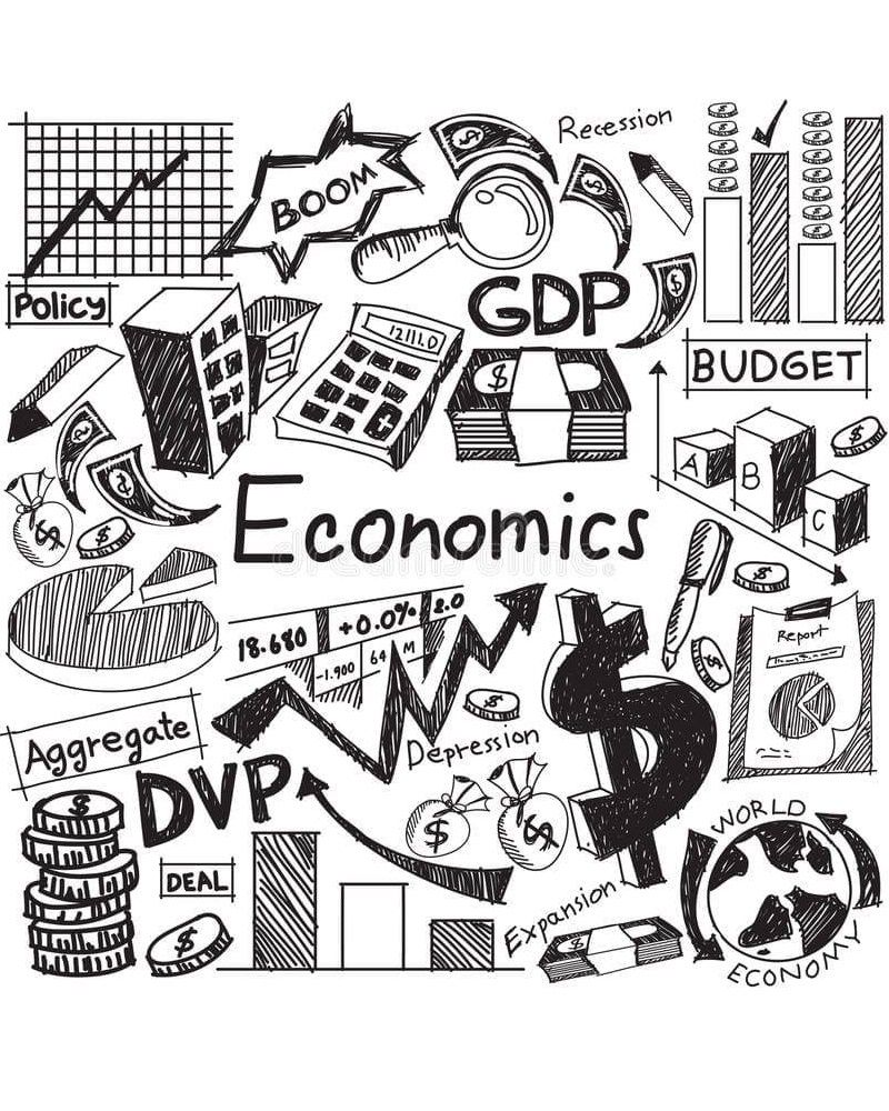 Product Differentiation In Economics Doodle Icon Economics Doodles