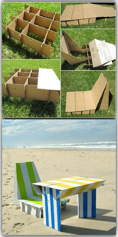 Diy Cardboard Furniture I Want To Try Make The Chair