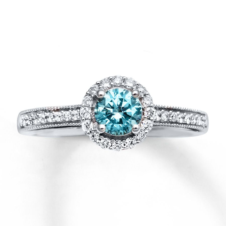 natural blue diamond engagement rings blue diamond. Black Bedroom Furniture Sets. Home Design Ideas
