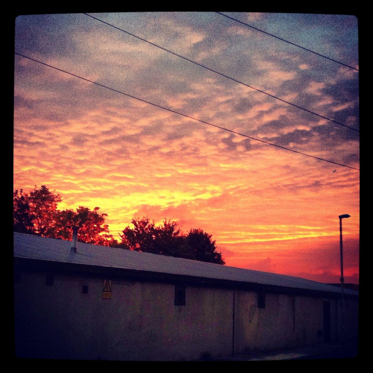 Firey skies in my ghetto x