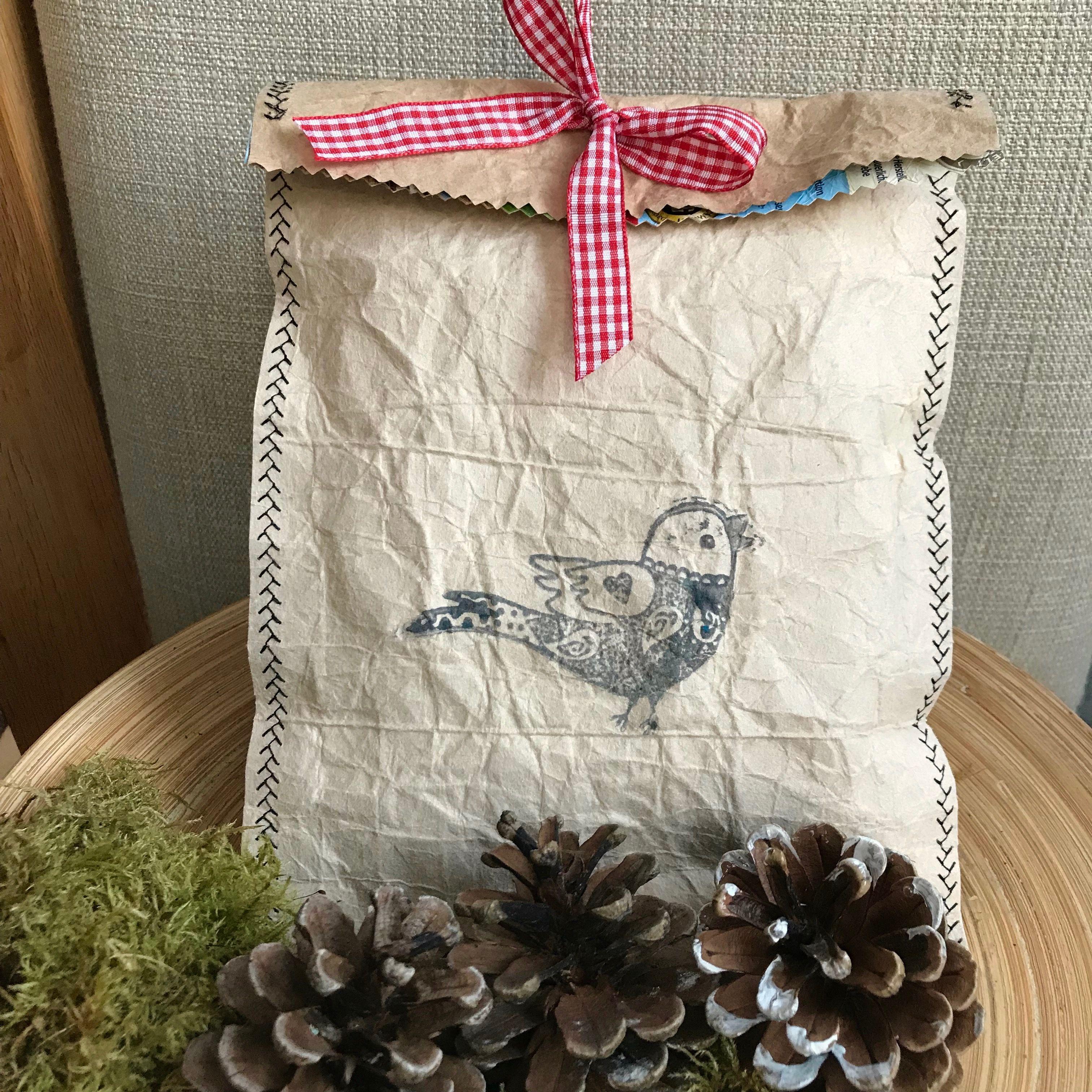 Photo of Basteln mit Tetrapack – DIY charmante Geschenktüte aus nur 3 Dingen –