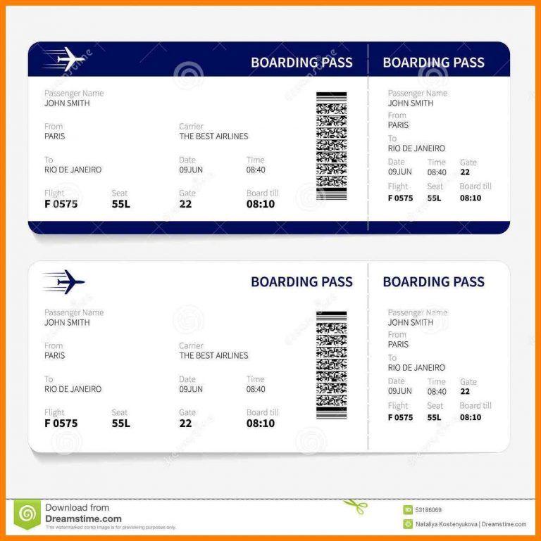 6 Free Printable Boarding Pass Template St Columbaretreat House Boletos De Avion Plantilla De Billete Billetes De Aerolinea