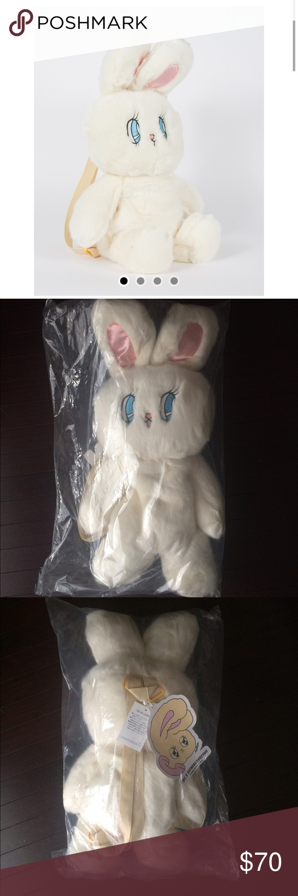 bdd2fb785ed ESTHER KIM LOVES LAZY OAF WC BUNNY BACKPACK This is a brand new with tags  Esther