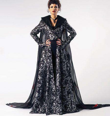 Ladies Fantasy Goth Warrior Evil Queen Lord of by MissBettysAttic $7.00  sc 1 st  Pinterest & Ladies Fantasy Goth Warrior Evil Queen Lord of by MissBettysAttic ...