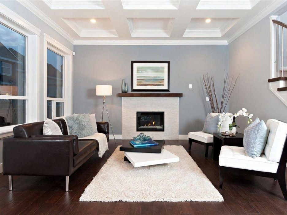 Stupendous Living Room White Shag Rug Carpeted Stairs Gray Wall Dark Gmtry Best Dining Table And Chair Ideas Images Gmtryco