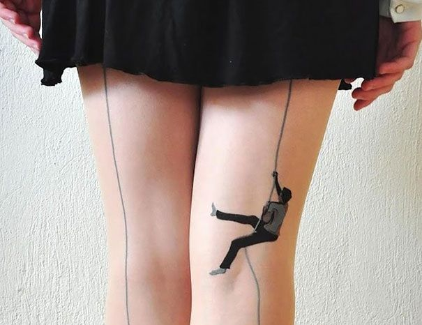 15 Incredibly Creative Socks and Tights: Treat Your Legs and Feet! - Cube Breaker
