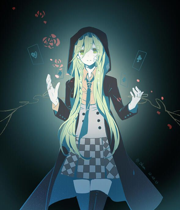 Ukyo (female) | Amnesia omg it kind of looks like it's from mekakucity  actors