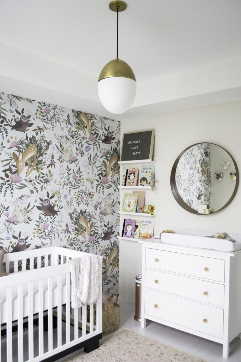 Bright Whimsical Woodland Nursery In 2019
