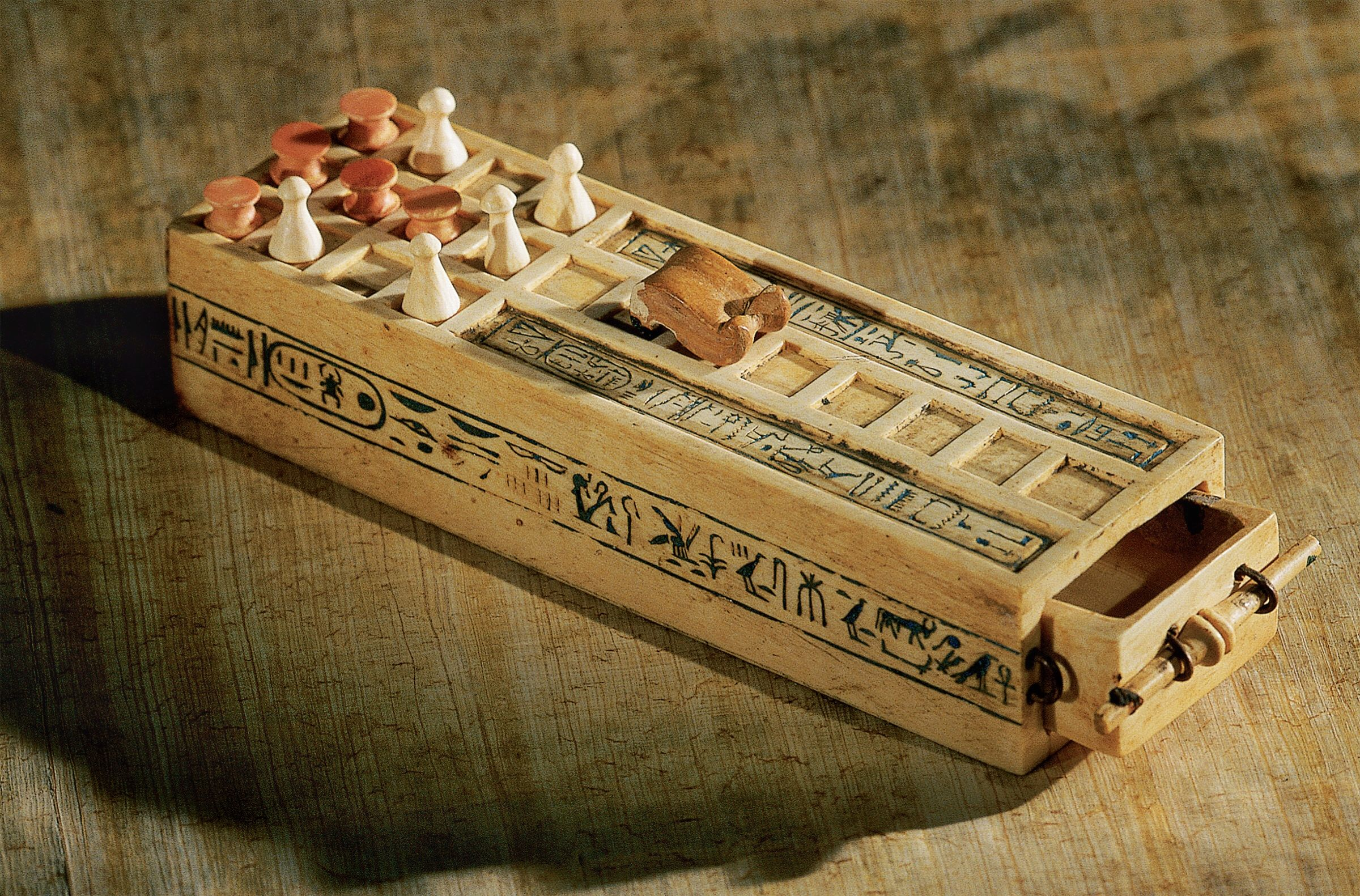 The Curse Of King Tuts Tomb Torrent: One Of Four Board Games Found Buried With King Tut, 3,000