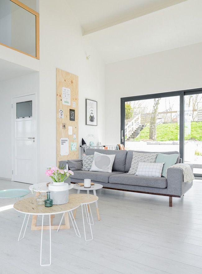 Un intérieur tout en douceur Pinterest Planches de bois