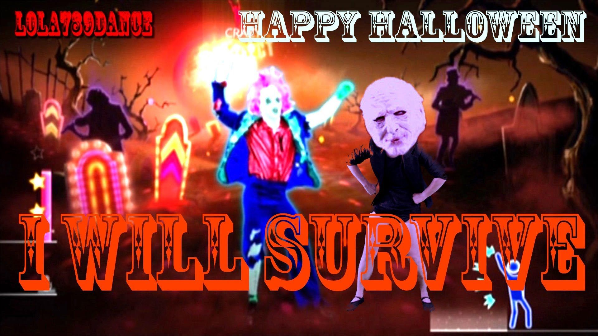 Just Dance 2014 I Will Survive Halloween Version Full Gameplay