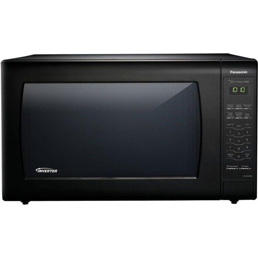 Panasonic Nn Sn936b Microwave Oven Black In 2019 Countertop Microwave Oven Black Microwave Panasonic Microwave