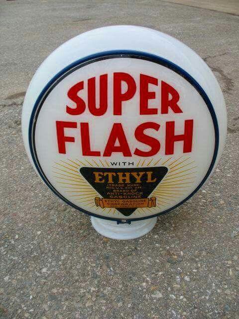 Crystal Super Flash Ethyl Gas Globe