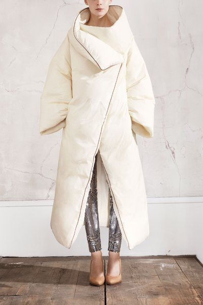 when I was little, I always thought someone should invent a duvet coat...