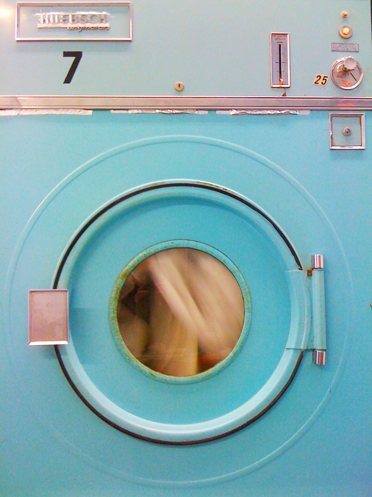 the dryer at our local laundromat. taken by my husband, bram zimmerman.