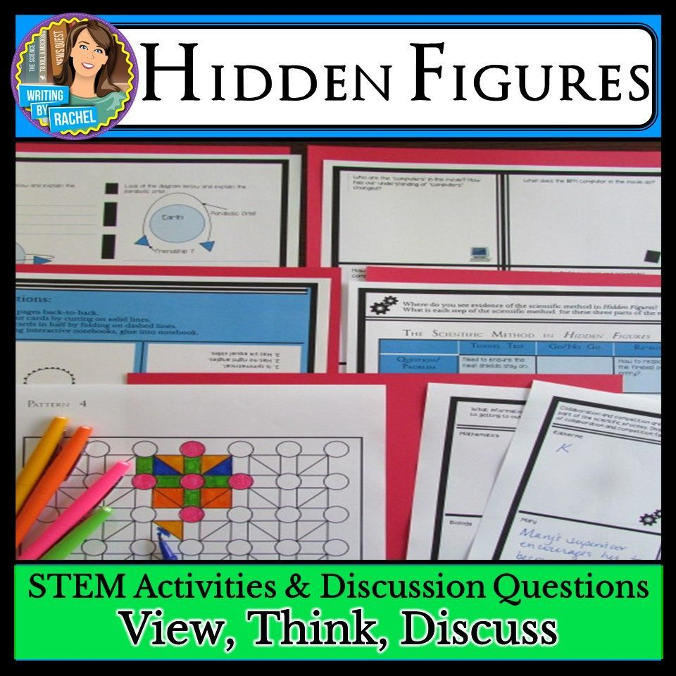 Science Hidden Facts: Hidden Figures Movie Guide: STEM Activities And Discussion
