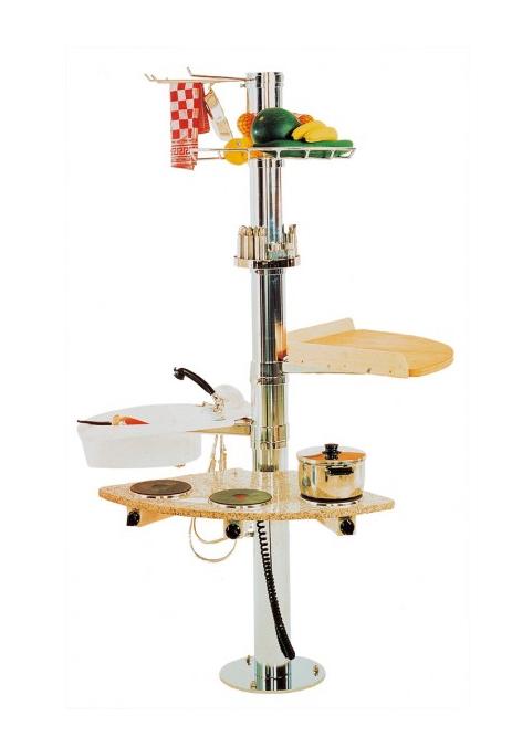 Kleine Kuche Modulares Konzept Spart Platz - Design