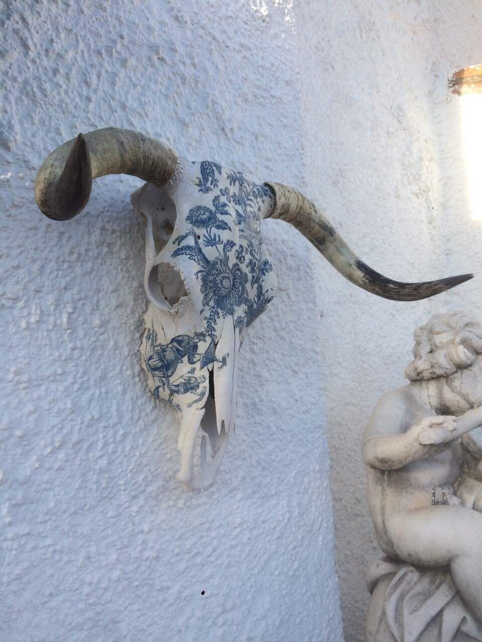 Pin by jesse kane on skull pieces pinterest decoracion terraza arte del cr neo and arte - Cabeza de ciervo decoracion ...