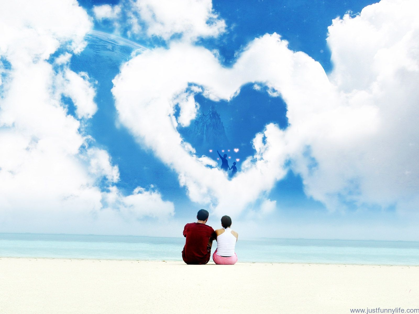 Love Couple On Beach Wallpaper Love Couples Lovely Couple Places