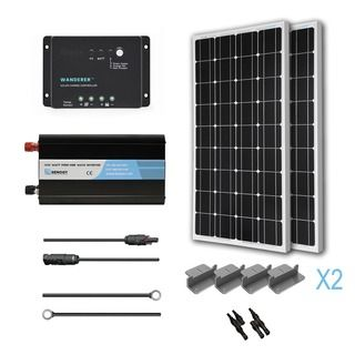 Overstock Com Online Shopping Bedding Furniture Electronics Jewelry Clothing More In 2020 Solar Power Kits Solar Energy Panels Solar Kit