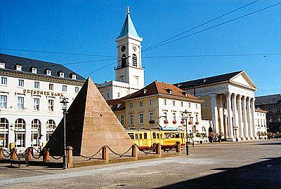 Karlsruhe Germany Market Platz Karlsruhe, Reiseziele