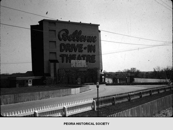 Bellevue Drive In Theatre Peoria Illinois