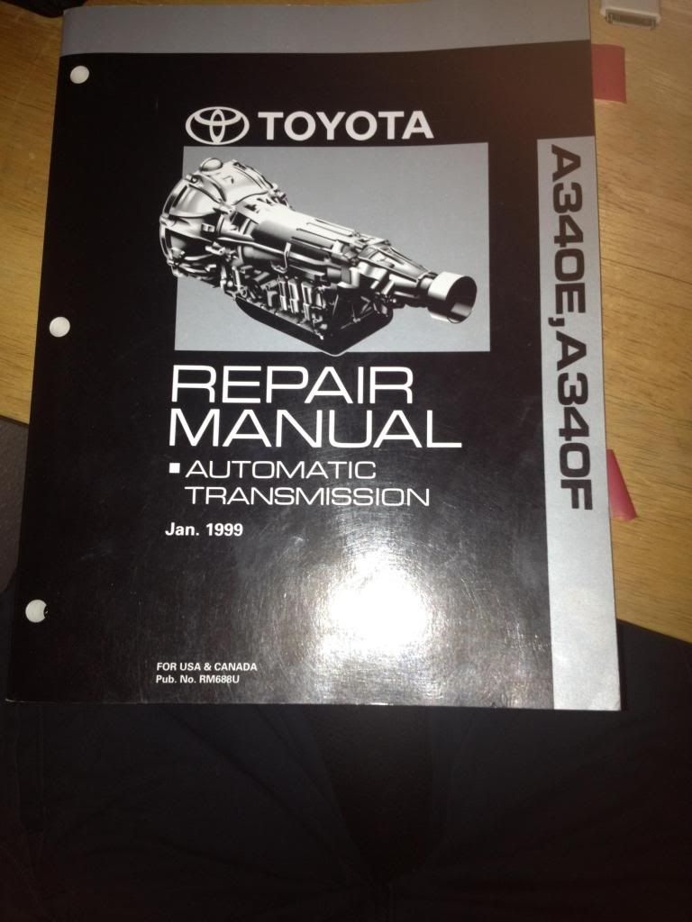 Toyota 4runner Transmission Parts Diagram Diy Enthusiasts Wiring 1999 Jeep Grand Cherokee Shift Solenoid A340e To A340f Swap Forum Largest Rh Pinterest Com 1995 Vacuum