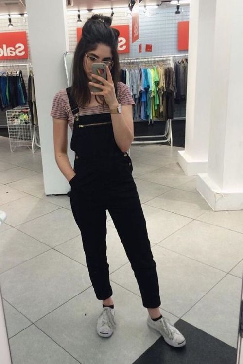 quality design e8606 244b0 Outfits grunge para las que están cansadas de verse como niñas fresas
