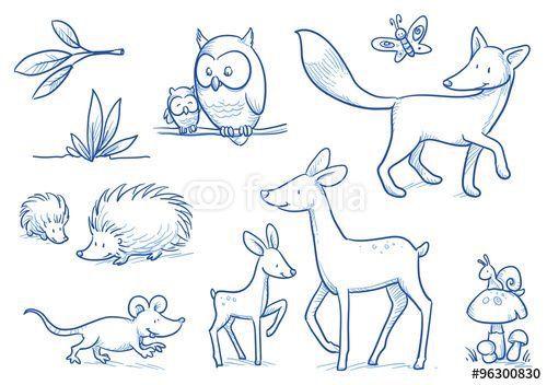 Pin Von Darin Jhom Auf Animals Illustration Tiere Malen Bilder