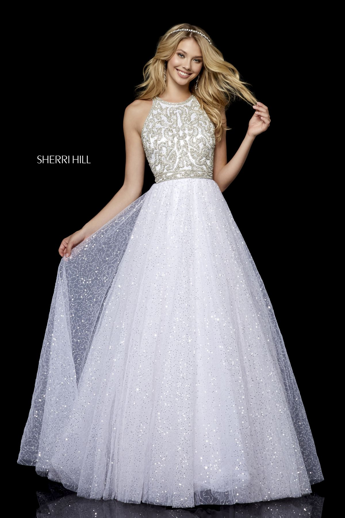 9f8fb8261731 Style #52277 – Sherri Hill | Fall 2018 Collection in 2019 | Prom ...
