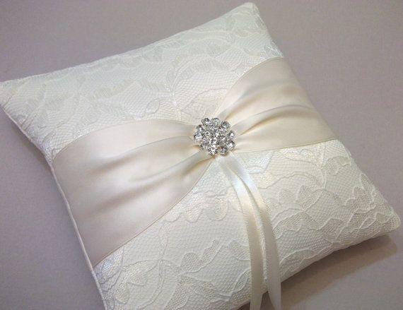 Pretty Ring Bearer Pillow Old Wedding Dresses Wedding