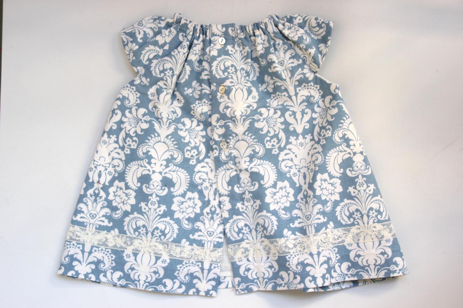 Vestido de niña (tutorial)   Regalos Bebés   Pinterest   Vestidos ...