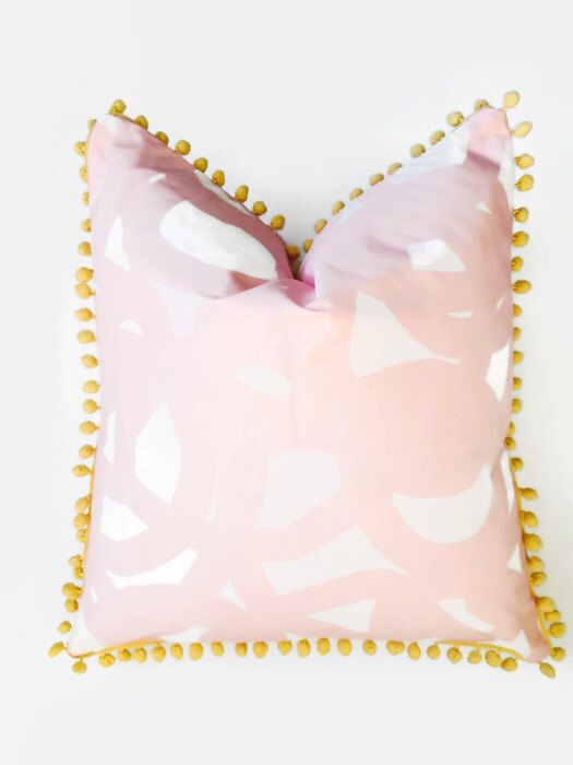 Freestyle Swirl Glam Pink Pillow by pickfair on Etsy https://www.etsy.com/listing/254950289/freestyle-swirl-glam-pink-pillow