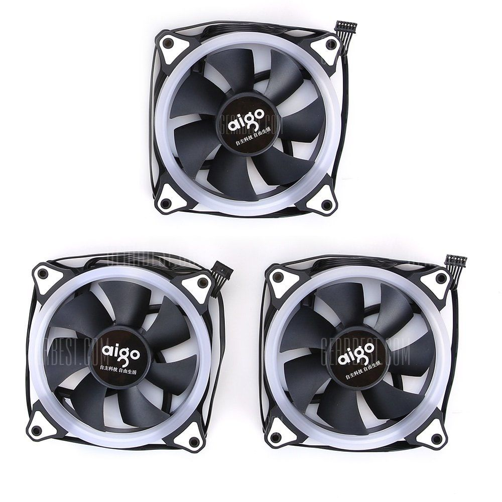 Aigo Aurora R3 3pcs Computer Case Cooling Fan Shoproads