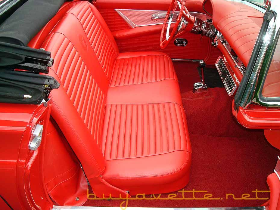 red interior car for sale
