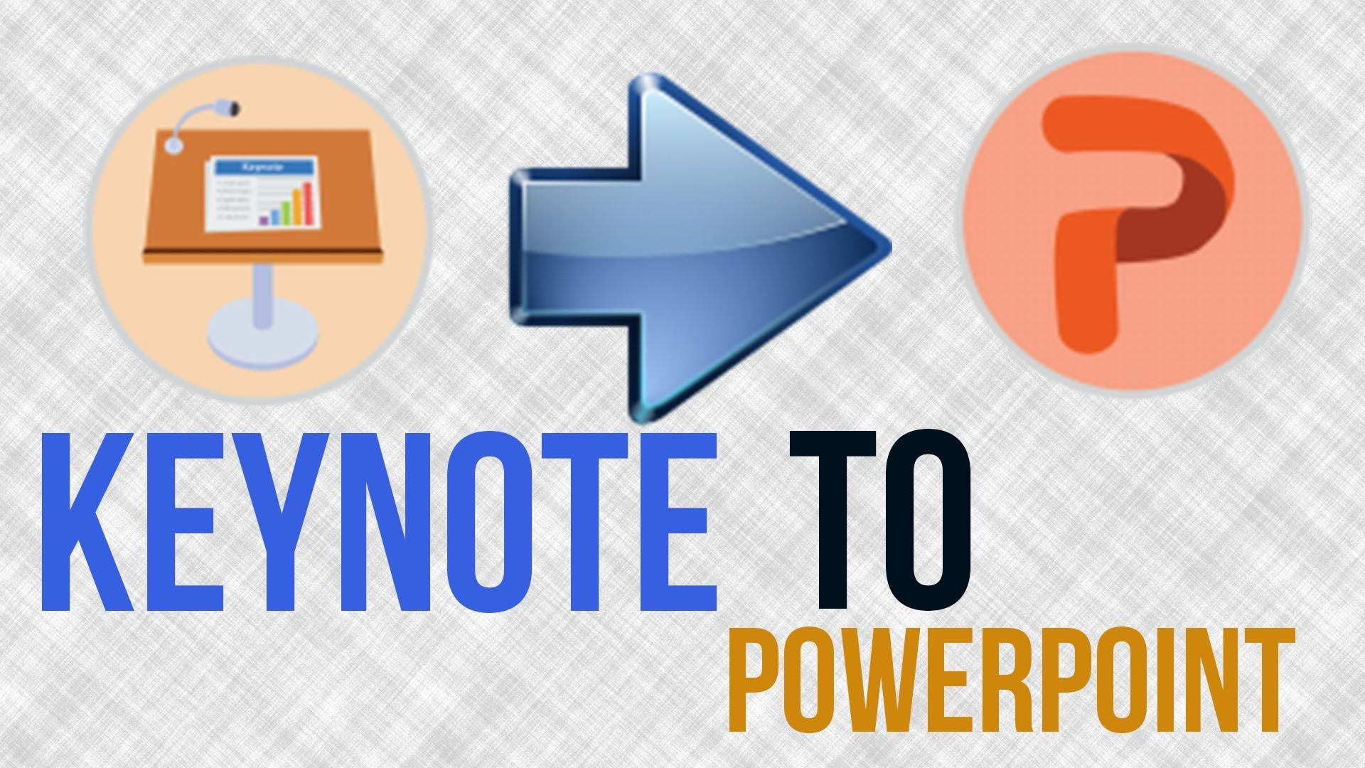 How To Save A Keynote File As A PowerPoint Presentation
