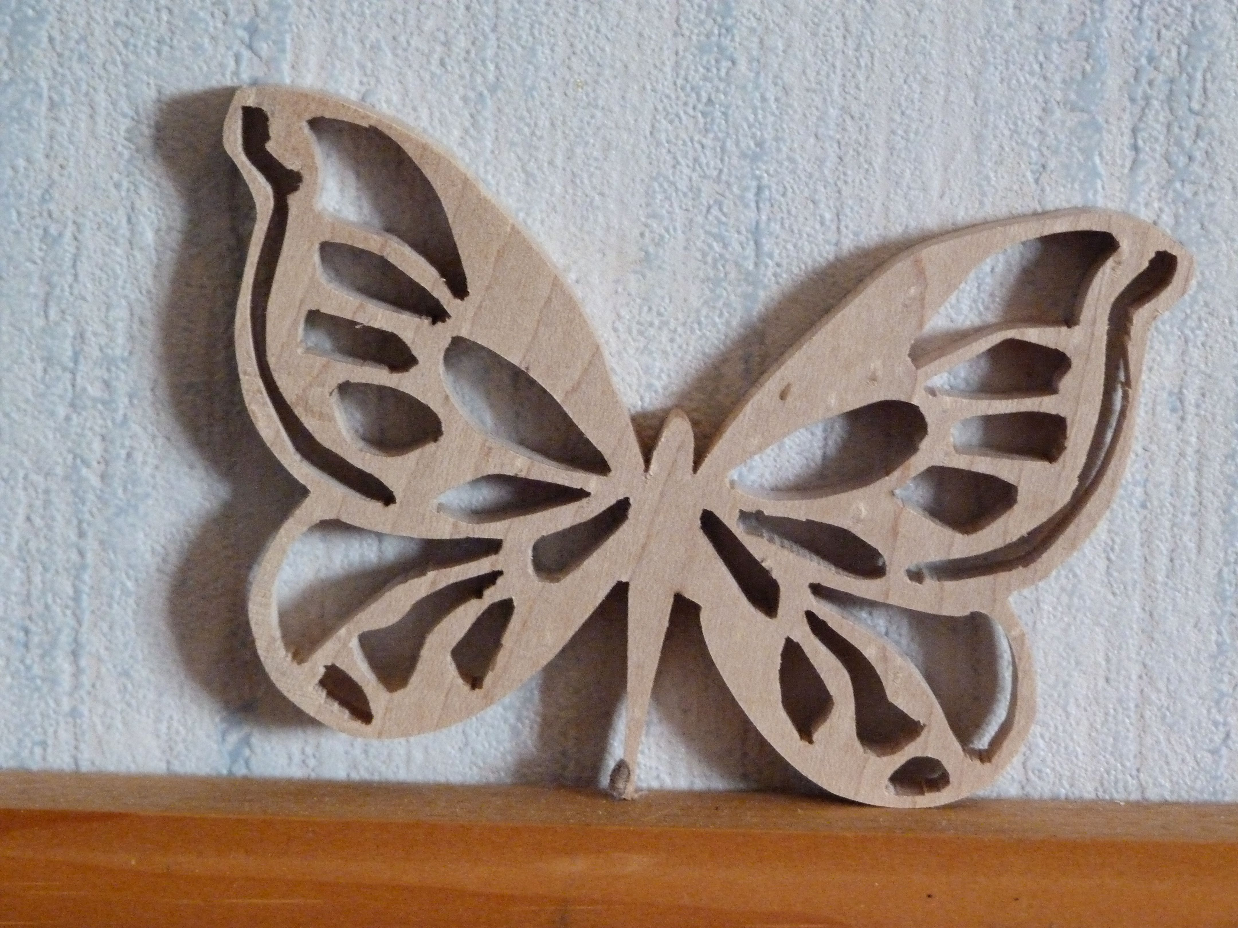 butterfly done on the scroll saw just for fun holz schablonen pinterest laubs ge. Black Bedroom Furniture Sets. Home Design Ideas