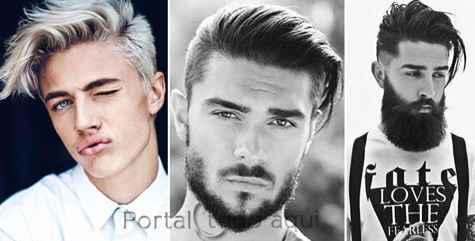 Cabelo masculino 2016 , Cortes, cores e todas as tendências