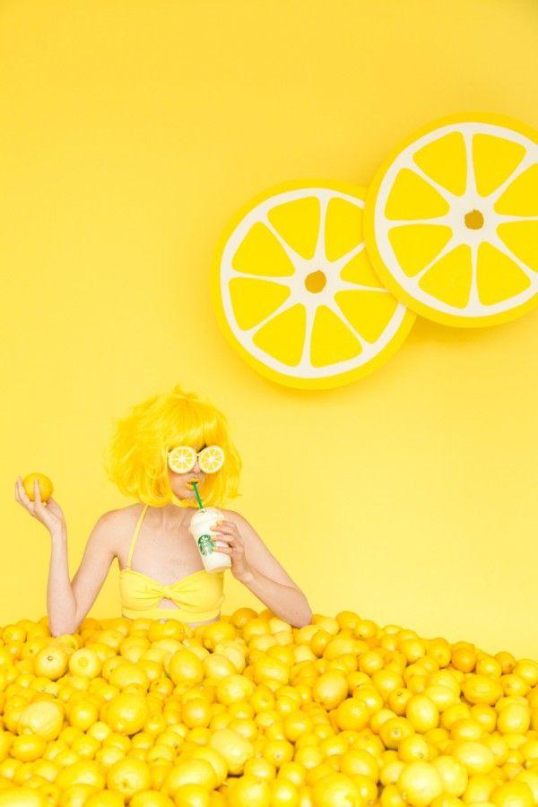 When Life Gives You Lemons: DIY Lemon Photo Booth   Photo ...