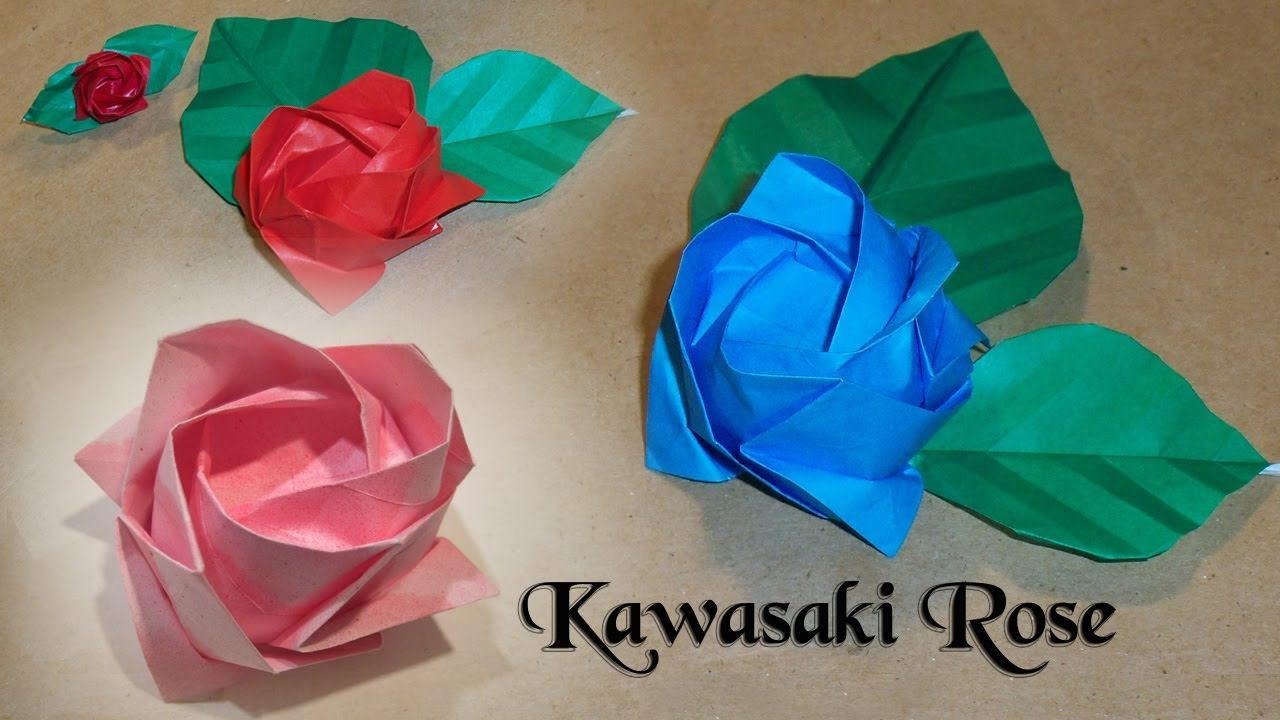 Learn How To Fold This Beautiful Origami Rose The Rose That Started