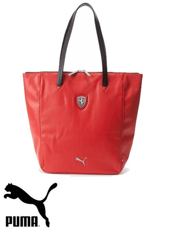 8fcfb056c142 The Puma Ferrari LS Shopper 073153 features a two-way zippered main  compartment with soft